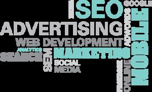 Mint Digital Marketing word cloud