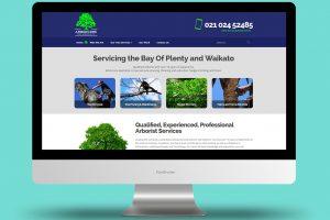 Arborcore Tree Services - Website Design and Development