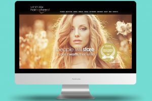 Hair to stare at Website