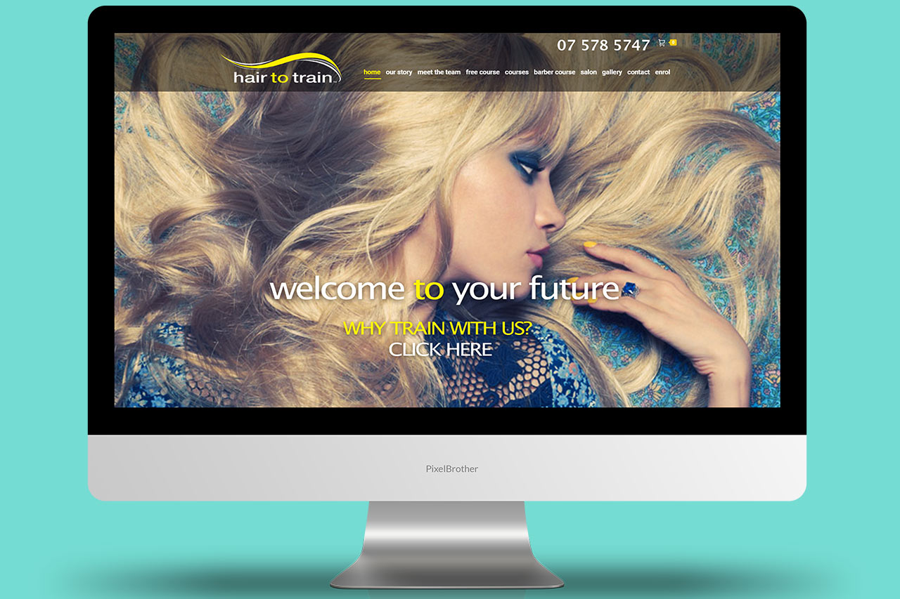 Hair to train Website