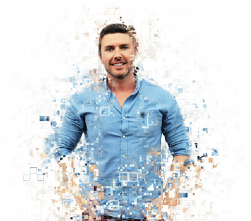 Pixelated image of Dan from our team at Mint Digital Marketing..