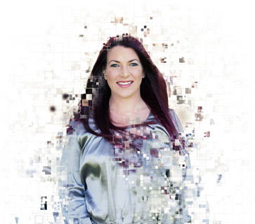 Pixelated image of Tracey from our team Director at Mint.