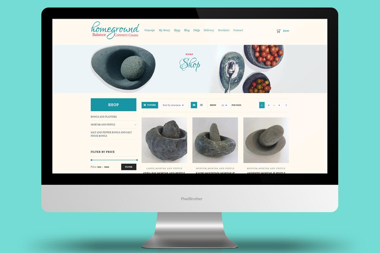 Homeground - Website Design and Development