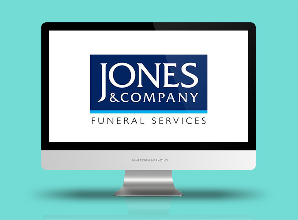 Jones & Company Funeral Services - Google AdWords + SEO