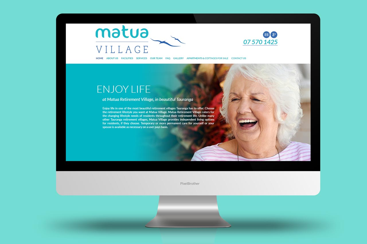 Matua Village - Website Design and Development