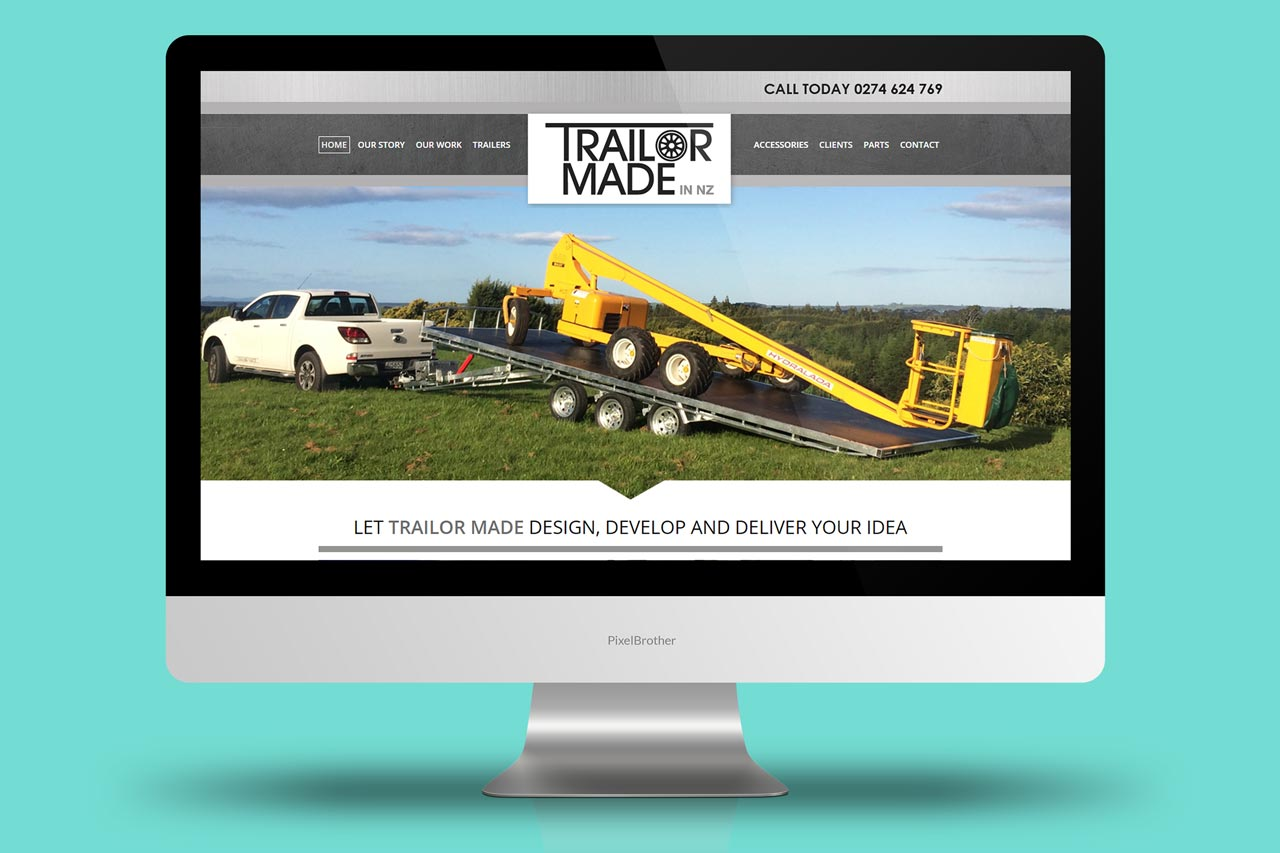 Trailor Made - Website Design and Development + SEO