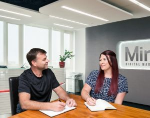 From the blog - Mint team at work